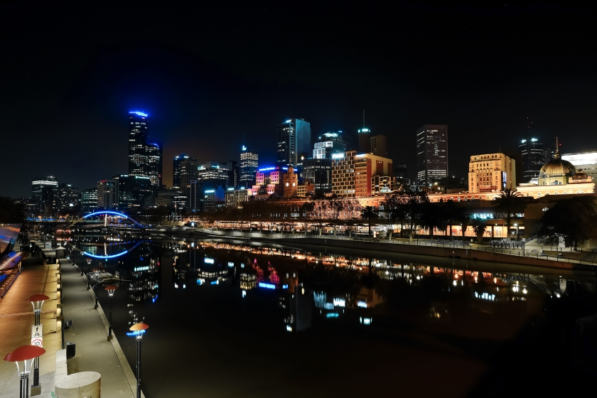 Melbourne at night (1 of 1)